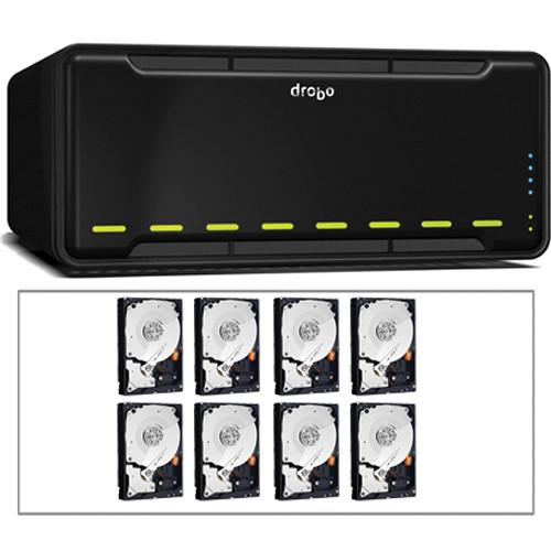 Drobo 16TB (8x2TB) B800fs 8-Bay Network File Sharing Storage Kit