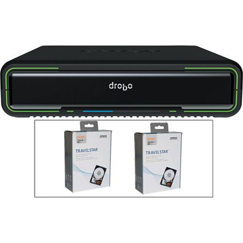 Drobo 1TB (2x500GB) Drobo Mini Kit