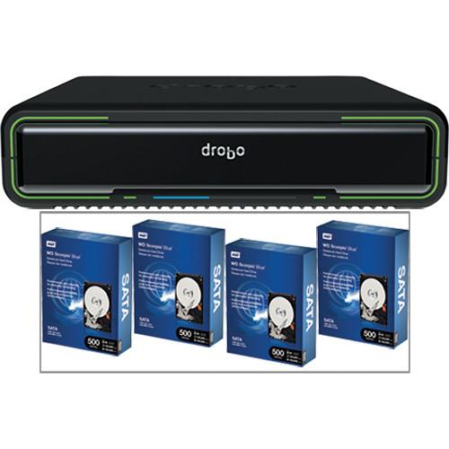 Drobo 2TB (4x500GB) Drobo Mini Kit