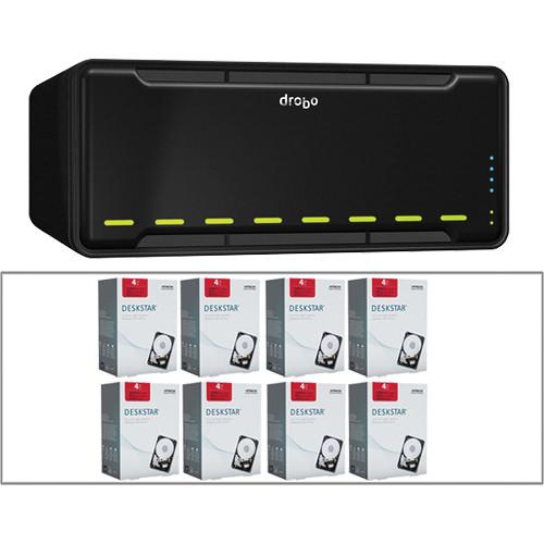 Drobo 32TB (8 x 4TB) B800i 8-Bay iSCSI SAN Storage Enclosure Kit