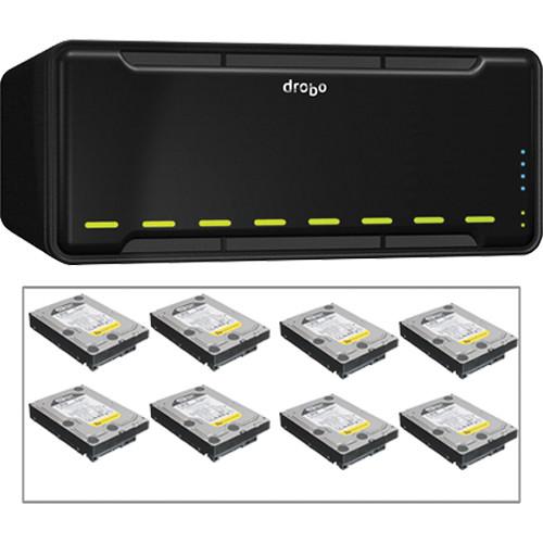 Drobo 8TB B800i 8-Bay iSCSI SAN Storage Enclosure Kit