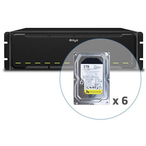 Drobo 12TB B1200i iSCI SAN Storage Enclosure (6 x 2TB HDD)