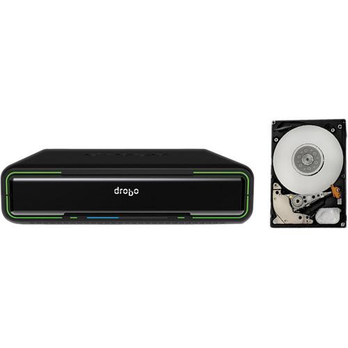 Drobo 4TB (4 x 1TB) Mini 4-bay Enclosure Kit with Mobile Hard Drives