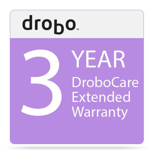 Drobo 3 Year DroboCare Extended Warranty for Drobo 5D