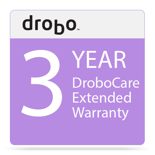 Drobo 3 -Year DroboCare Renewal Warranty for the Drobo 5D