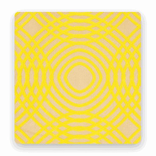 Drop it Modern Canary Backdrop (4.5 x 9')
