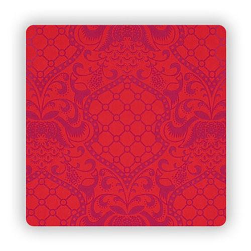 Drop it Modern Gypsy Backdrop (4.5 x 9', Red/Magenta)