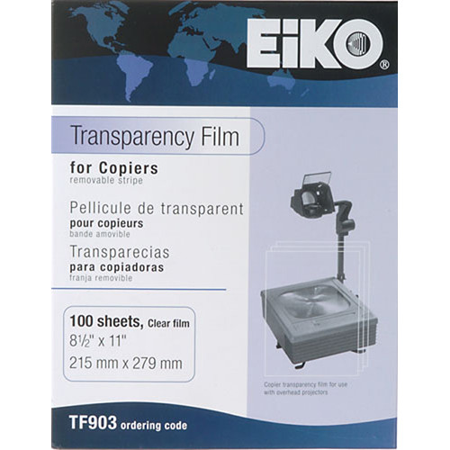 Dry Lam Transparency Film for Plain Paper Copier - 100 Sheets
