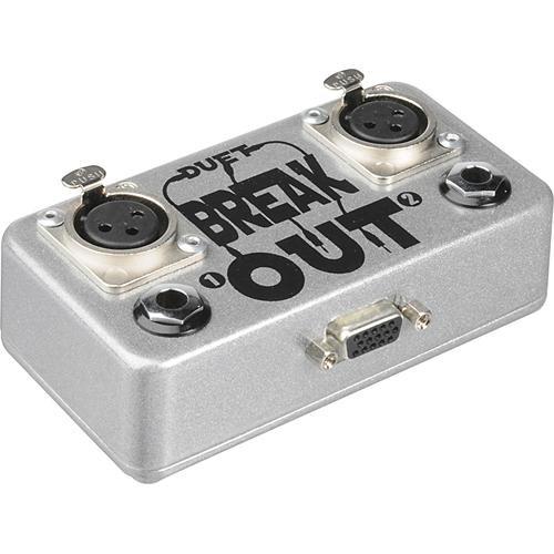 Duet Breakout duet:BREAKOUT - Breakout Box for Original Apogee Duet