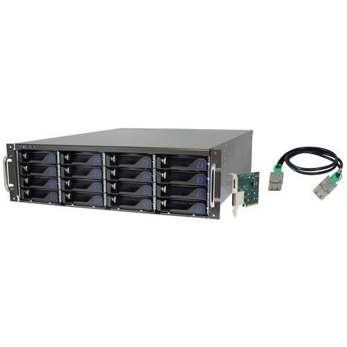 Dulce Systems 16TB Pro RXd 4K Hard Drive Array
