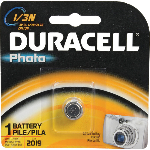 Duracell Photo 1/3N 3V Lithium Battery
