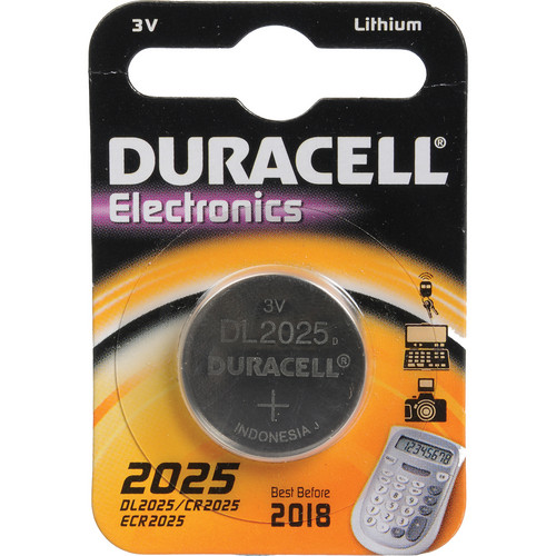 Duracell CR2025 3V Lithium Battery (160MAh)