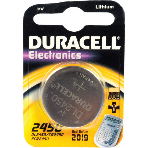 Duracell CR2450 3.0 V Lithium Battery (620 MAh)