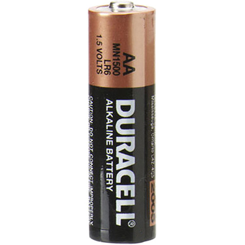 Duracell 1.5V AA Coppertop Alkaline Batteries (2-Pack)
