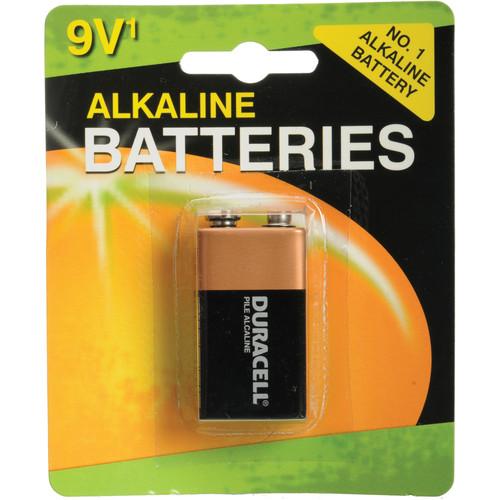Duracell 9V Alkaline Battery (Coppertop)