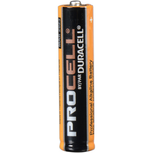 Duracell Procell AAA Alkaline 1.5V Batteries (4 Pack)
