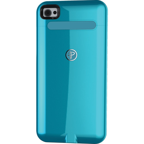 Duracell Powermat Wireless Case for iPhone 4/4S (Blue)
