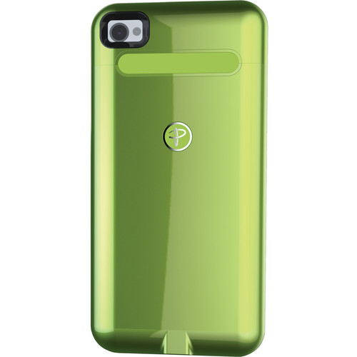 Duracell Powermat Wireless Case for iPhone 4/4S (Green)