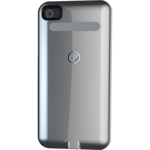 Duracell Powermat Wireless Case for iPhone 4/4S (Silver)