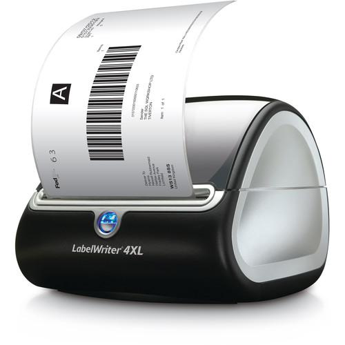 dymo label templates for word - dymo labelwriter 4xl label printer 1755120 b h photo video