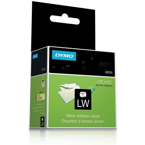 "Dymo LabelWriter Address Labels (1 1/8 x 3 1/2"") Yellow"