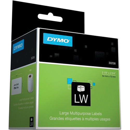 "Dymo LabelWriter White 3.5"" Disk Labels (2-1/8 x 2-3/4"")"