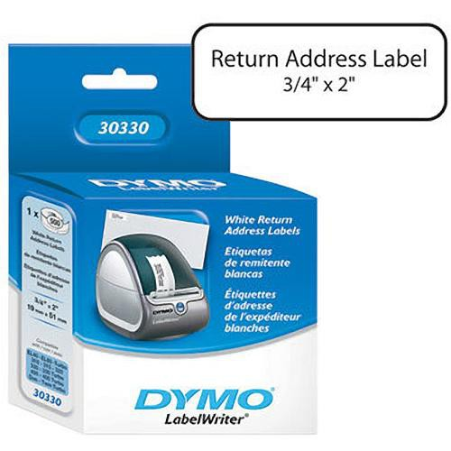 "Dymo Return Address Labels (3/4 x 2"")"