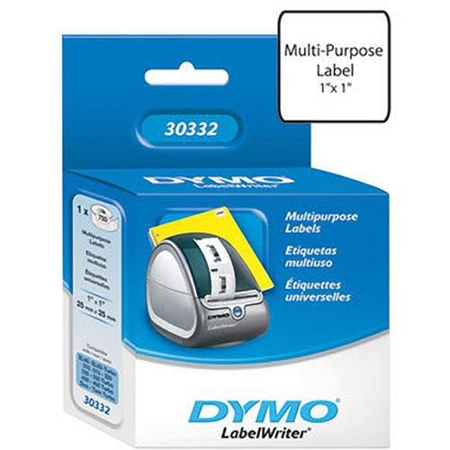 "Dymo Small Multi-Purpose Labels (1 x 1"")"
