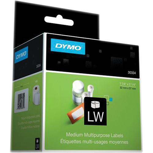 "Dymo LabelWriter Medium Multipurpose Labels White (1 1/4 x 2 1/4"")"