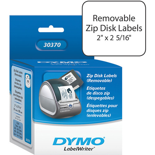 "Dymo LabelWriter White ZIP Drive (Removable) Labels (2 x 2 5/16"")"