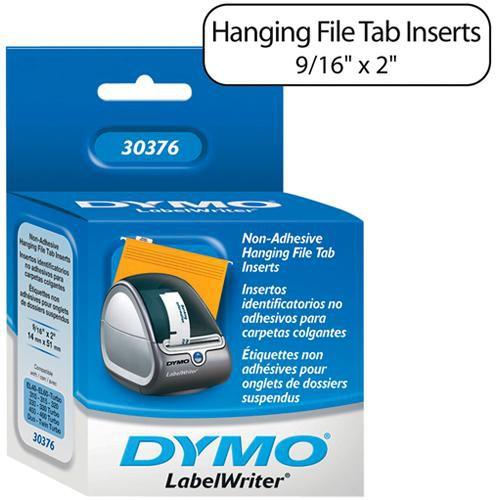 "Dymo Pendaflex 1/5th Cut Hanging File Tab Inserts (9/16 x 2"")"