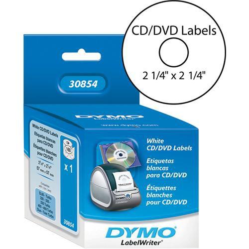 """Dymo CD/DVD Labels (2 1/4"""" Diameter)"""