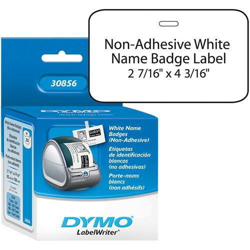 "Dymo Non-Adhesive Badges (2 7/16 x 4 3/16"")"