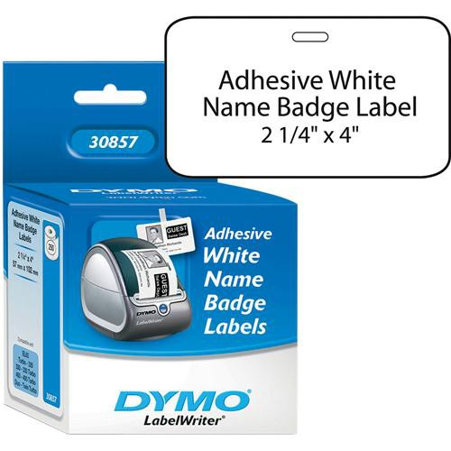 """Dymo Badge with Adhesive Labels (2 1/4 x  4"""")"""