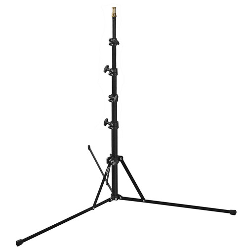 Dynalite Compact Lightweight Light Stand (Black, 6.5')