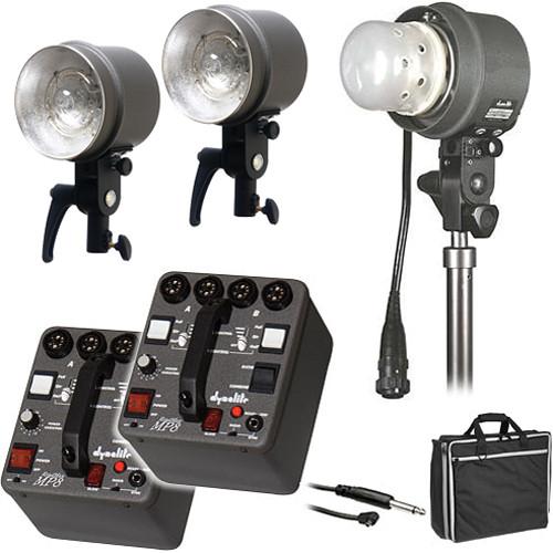 Dynalite MK8-22100V RoadMax/Studio 800W/s 2 Pack 3 Head Kit (120V)
