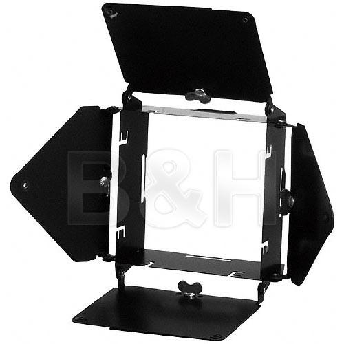 Dynalite 4-Leaf Barndoor Set for Dynalite RH1050 & MH2050 Flash Heads