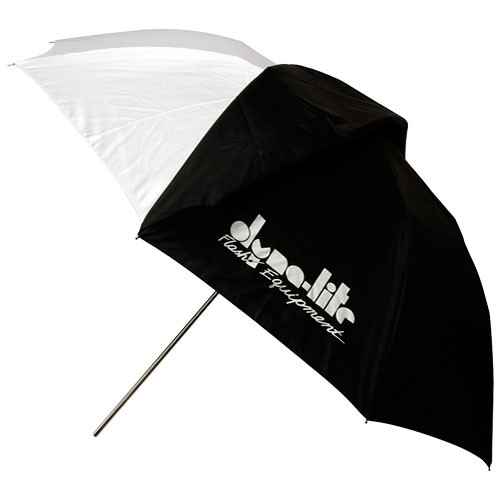 "Dynalite Umbrella - White with Black Backing - (40""/101.6 cm)"