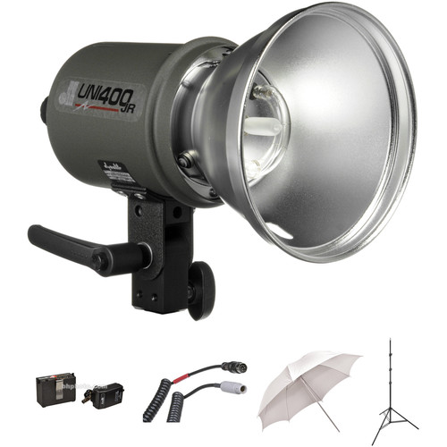Dynalite UNIJR-PS1 Uni400JR Jackrabbit One Light Kit (120 VAC/12 VDC)