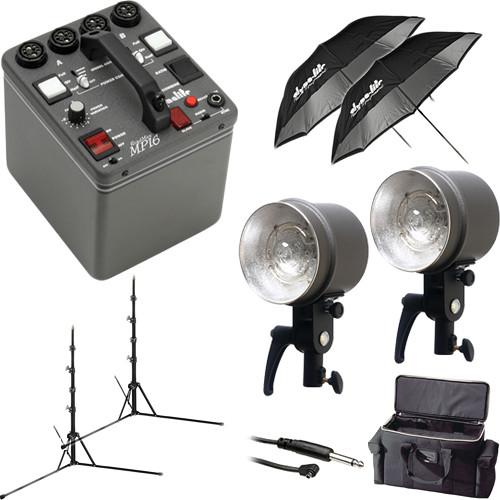 Dynalite MK16-1222V RoadMax 1600W/s 2 Head Kit (120V)
