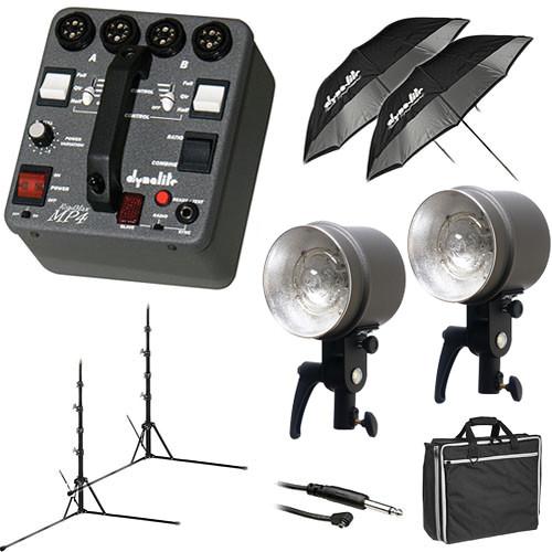 Dynalite MK4-1222V RoadMax 400W/s 2 Head Kit (120V)