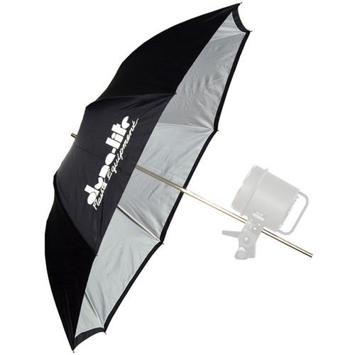 "Dynalite Umbrella - White with Black Backing - (36""/0.9 m)"