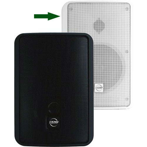 "EAW SMS4 - 5"" Weather-Resistant Surface Mount Speaker (White)"