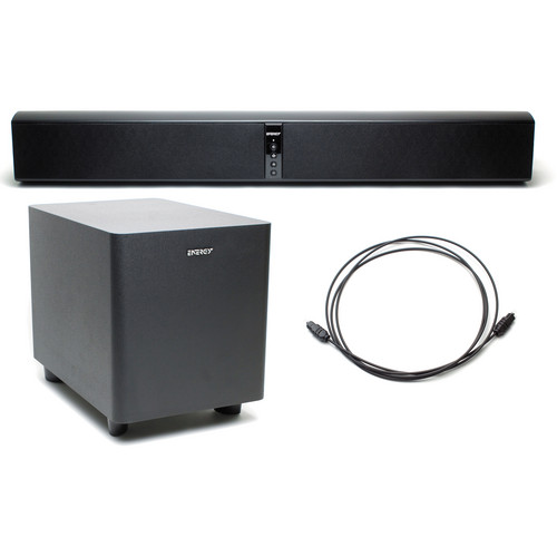 Energy Power Bar Soundbar Audio System with Wireless Subwoofer