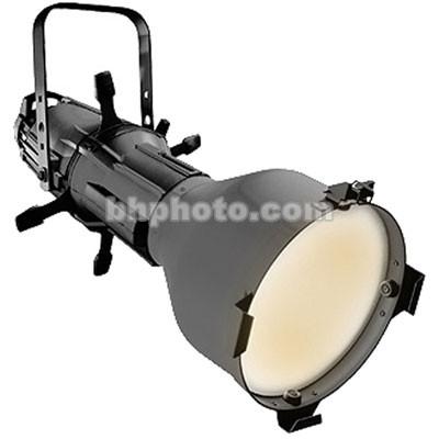 ETC Source Four 750 Watt Ellipsoidal Spotlight, Black, with Edison Plug - 5 Degrees (115-240V AC)