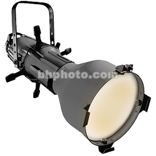 ETC Source Four 750 Watt Ellipsoidal Spotlight, Black, No Plug - 5 Degrees (120-240V AC)