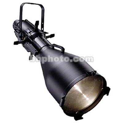ETC Source Four 750 Watt Ellipsoidal Spotlight, Black, with Stage Pin Connector - 10 Degrees (115-240V AC)