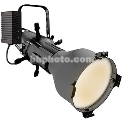 ETC Source 4 HID 150W Ellipsoidal, Black, Pigtail - 5 Degrees (115V)
