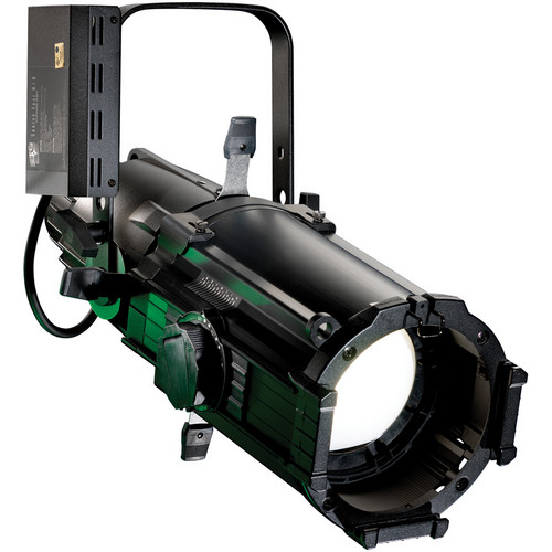 ETC 25 to 50˚ Source Four 70 W Ellipsoidal Zoom HID with Stage Pin Connector (Black)