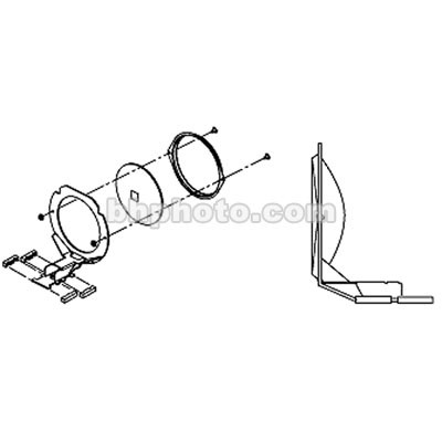 ETC Front Lens Assembly for Source 4 Jr Zoom Ellipsoidal